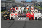 Formel 1 Grupennfoto 2011