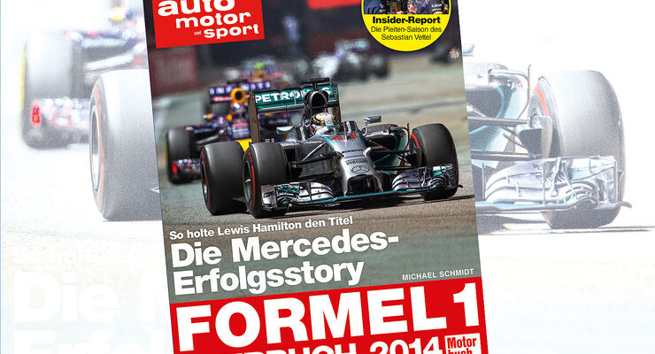 Formel 1-Jahrbuch 2014 - Titel - Michael Schmidt - auto motor und sport