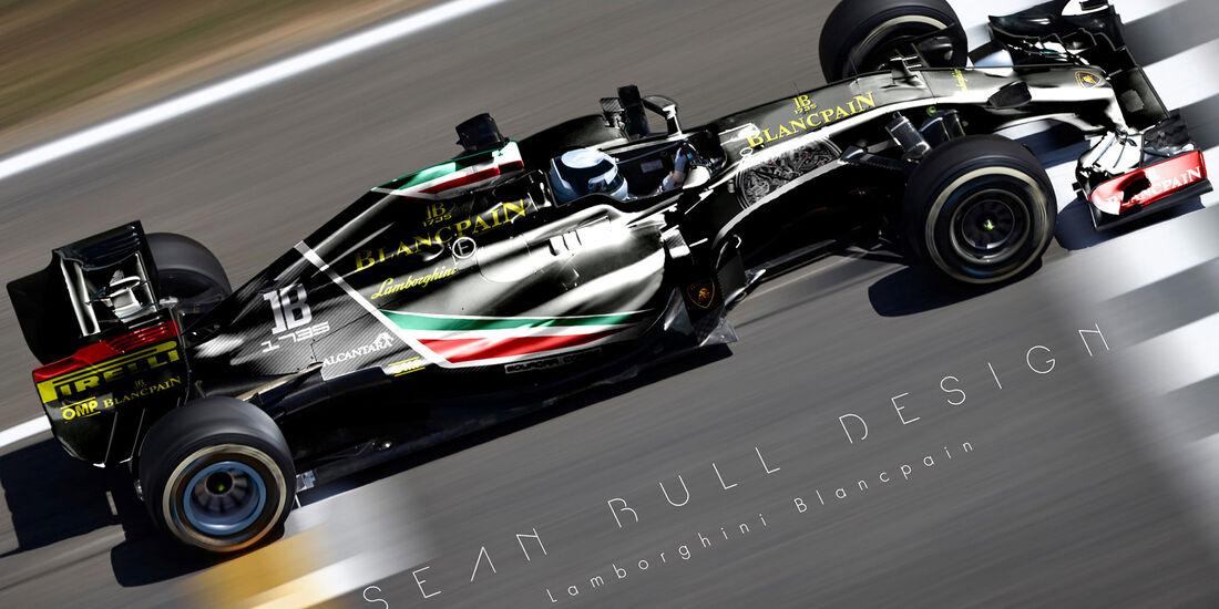 Formel 1 - Lamborghini - Fantasie-Teams - Sean Bull Design