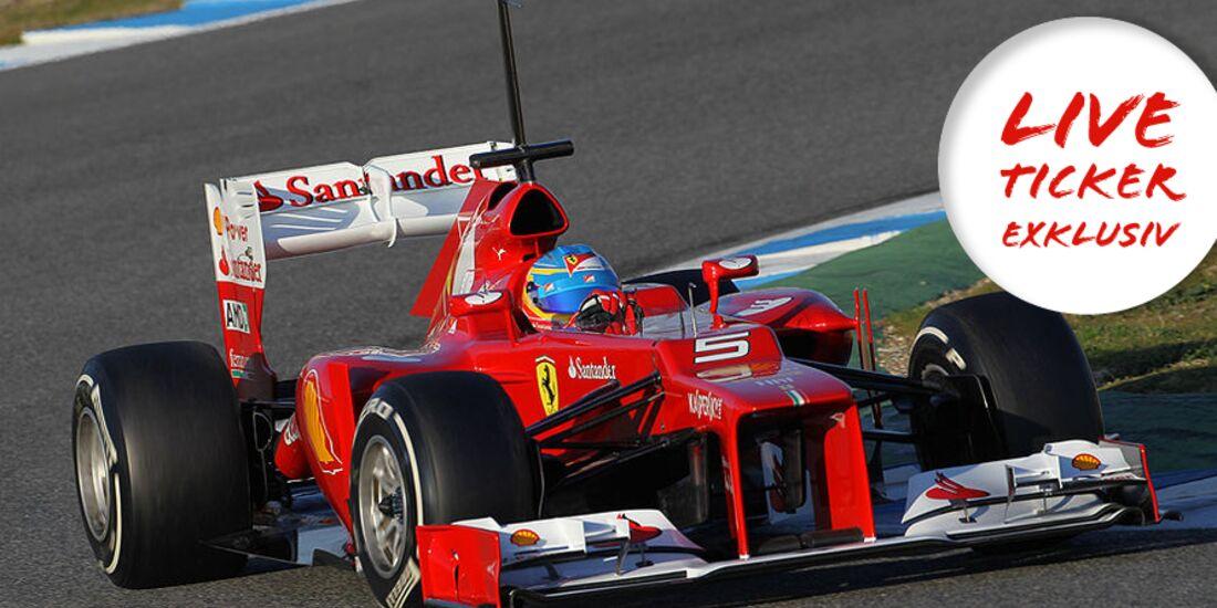 Formel 1 Live-Ticker 2012