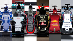 Formel 1-Nasen 2015