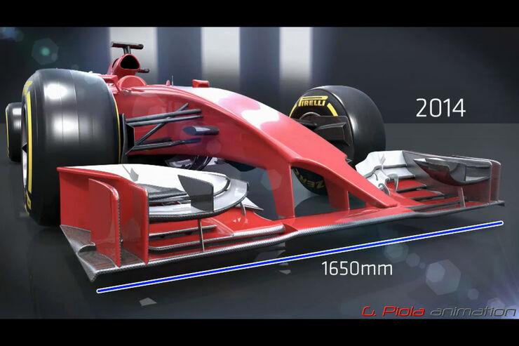 Formel 1 Nasen Übersicht 2012