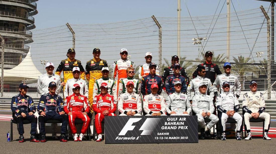 Formel 1-Piloten 2010