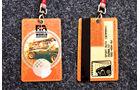 Formel 1 Presse-Akkreditierung Saison 1995