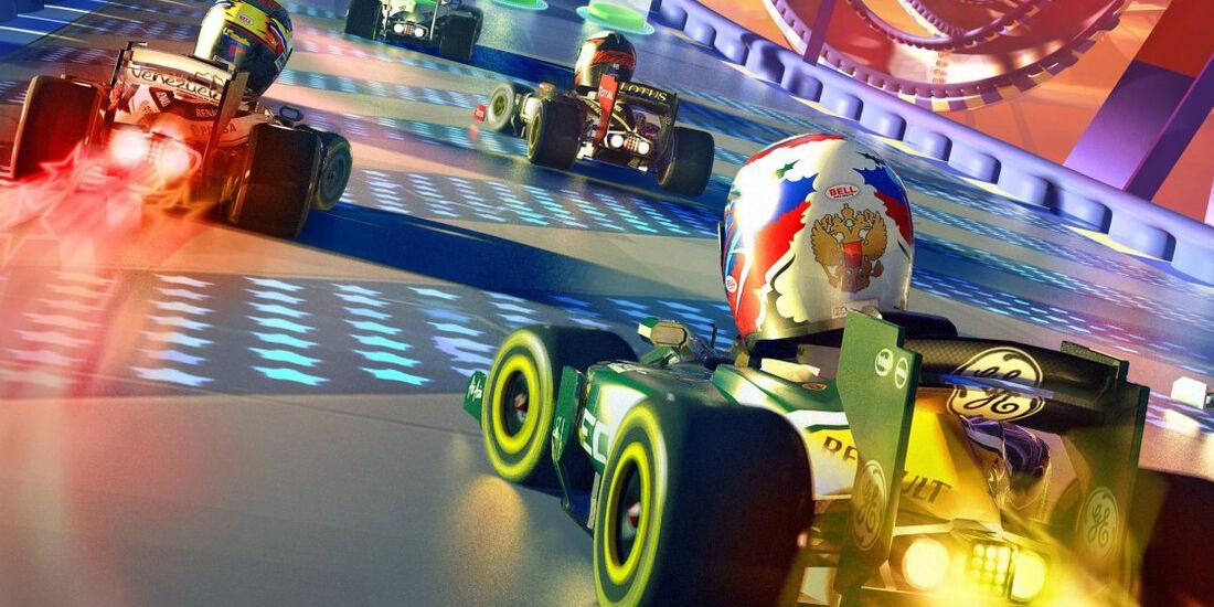 Formel 1 Race Stars 2012 Screenshot