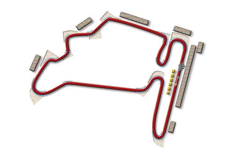 Formel 1- Rennstrecke Ungarn