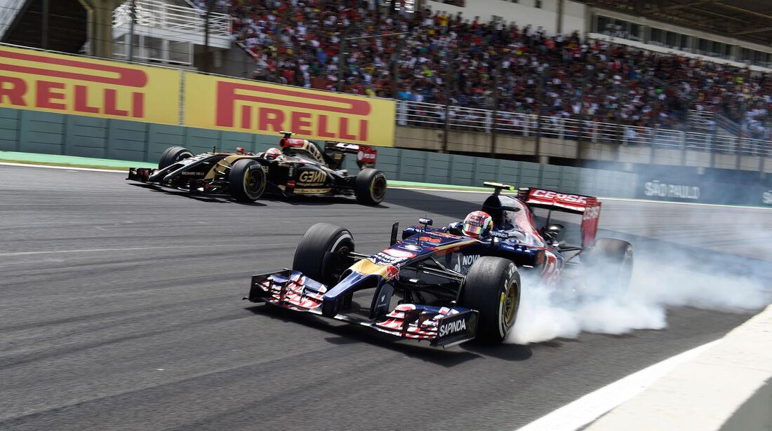 Formel 1 - Saison 2014 - GP Brasilien - Kvyat - Toro Rosso