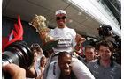 Formel 1 - Saison 2014 - GP England - Hamilton - Mercedes