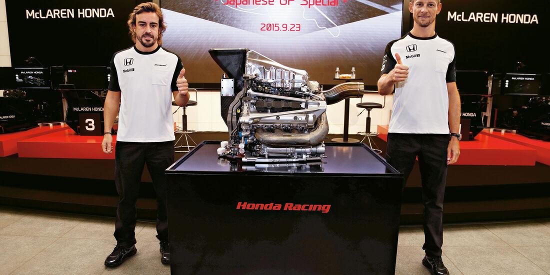 Formel 1 - Saison 2015 - Fernando Alonso - Jenson Button - McLaren