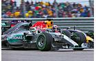Formel 1 - Saison 2015 - Hamilton - Ricciardo - GP USA
