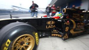Formel 1 Test 2011 Senna