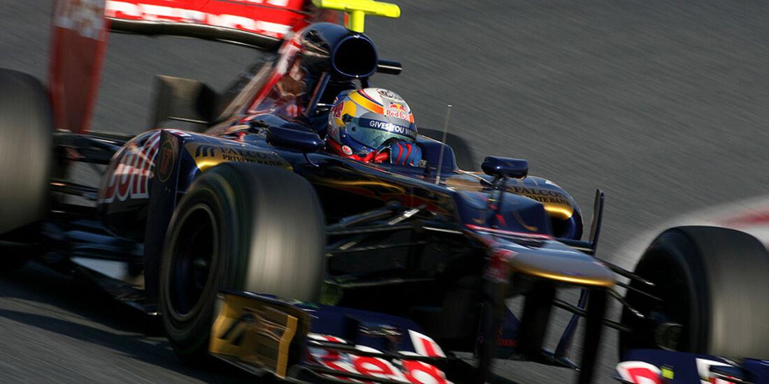 Formel 1-Test, Barcelona, 01.03.2012, Jean-Eric Vergne, Toro Rosso