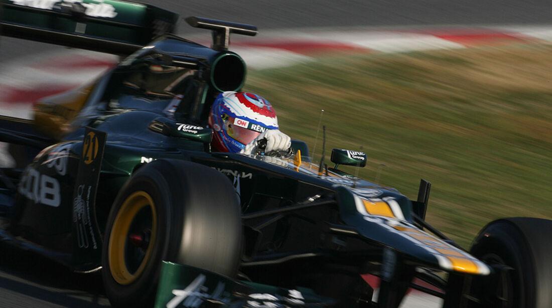 Formel 1-Test, Barcelona, 01.03.2012, Vitaly Petrov, Caterham