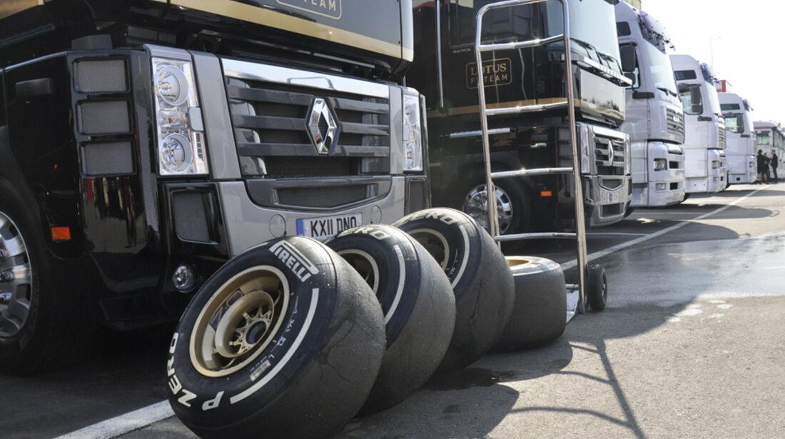 Formel 1-Test, Barcelona, 01.03.2012