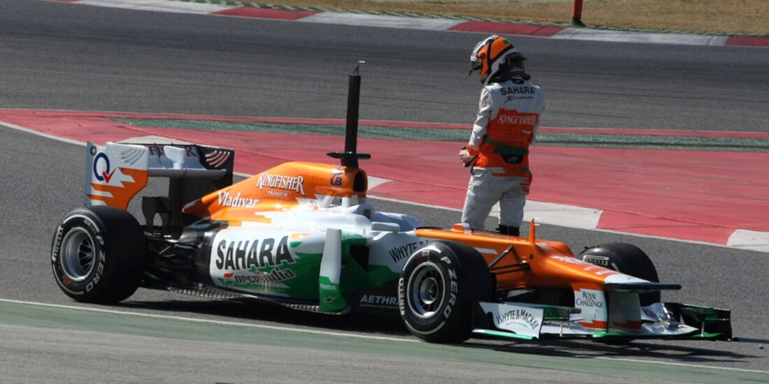 Formel 1-Test, Barcelona, 02.03.2012, Nico Hülkenberg, Force India