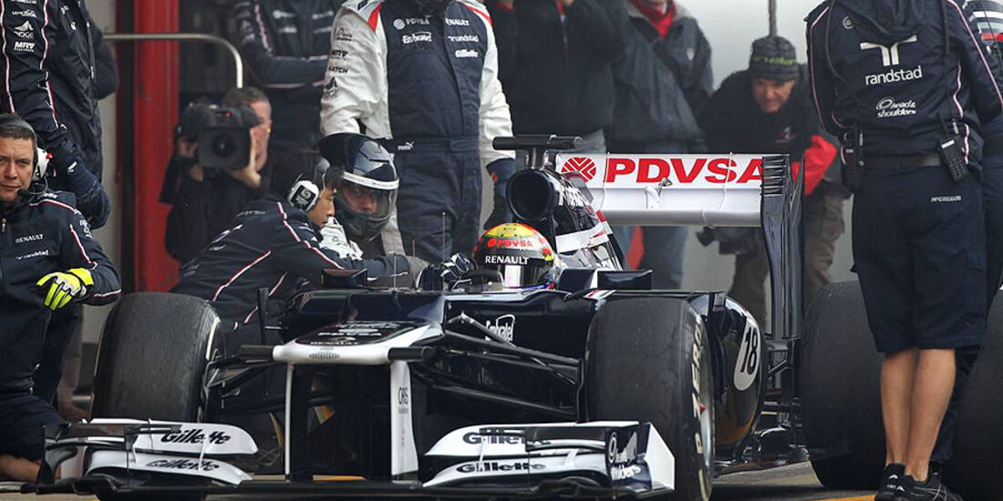 Formel 1-Test, Barcelona, 02.03.2012, Paul di Resta, Force India