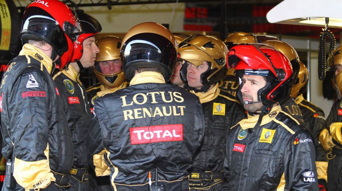 Formel 1-Test Barcelona 2011