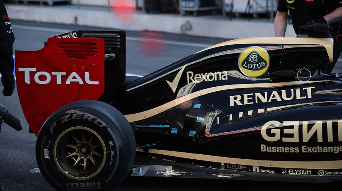 Formel 1-Test, Barcelona, 21.2.2012, Romain Grosjean, Lotus Renault GP