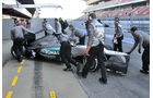 Formel 1-Test, Barcelona, 23.2.2012, Michael Schumacher, Mercedes GP