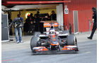 Formel 1-Test, Barcelona, 24.2.2012, Jenson Button, McLaren