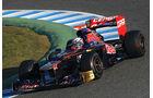 Formel 1-Test, Jerez, 7.2.2012, Daniel Ricciardo, Toro Rosso