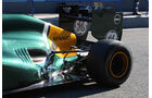 Formel 1-Test, Jerez, 7.2.2012, Heikki Kovalainen, Caterham