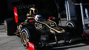 Formel 1-Test, Jerez, 7.2.2012, Kimi Raikkonen, Lotus Renault GP
