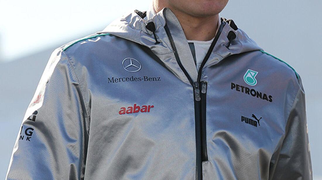 Formel 1-Test, Jerez, 8.2.2012, Nico Rosberg, Mercedes GP