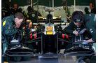 Formel 1-Test, Jerez, 9.2.2012, Caterham-Team
