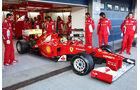Formel 1 Test, Jerez, Tag 1, Ferrari, Felipe Massa