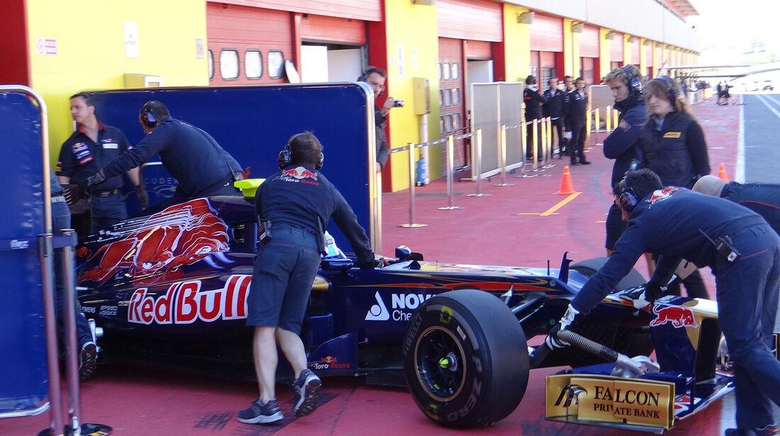 Formel 1-Test, Mugello, 02.05.2012, Jean-Eric Vergne, Toro Rosso