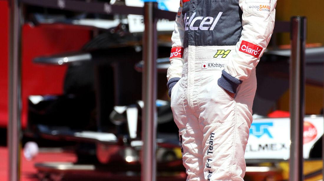 Formel 1-Test, Mugello, 02.05.2012, Kamui Kobayashi, Sauber