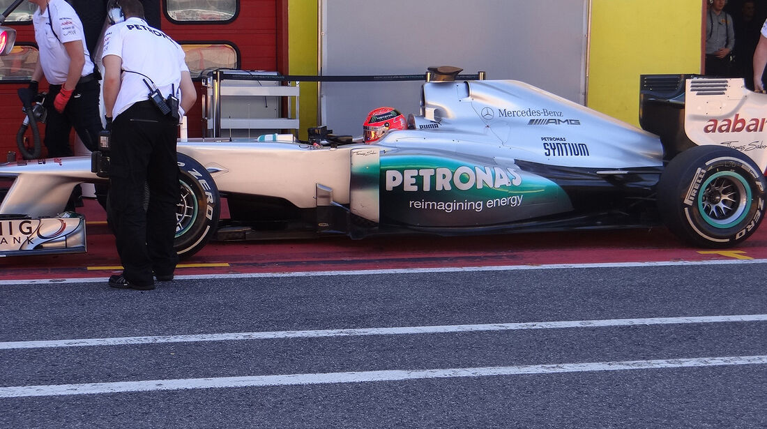 Formel 1-Test, Mugello, 02.05.2012, Michael Schumacher, Mercedes GP