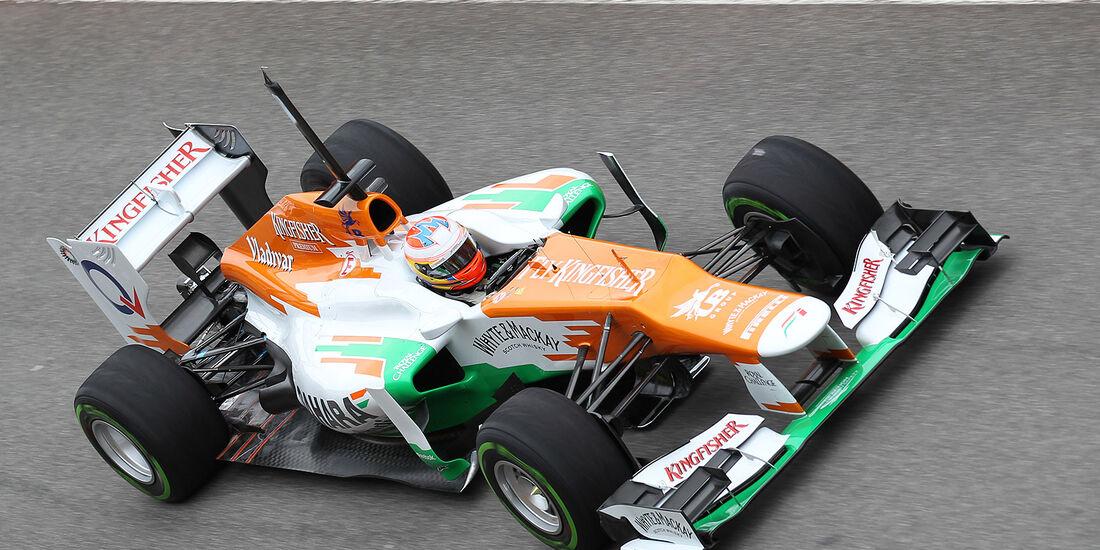 Formel 1-Test, Mugello, 03.05.2012, Paul di Resta, Force India