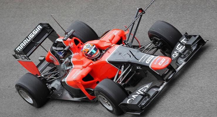 Formel 1-Test, Mugello, 03.05.2012, Timo Glock, Marussia F1