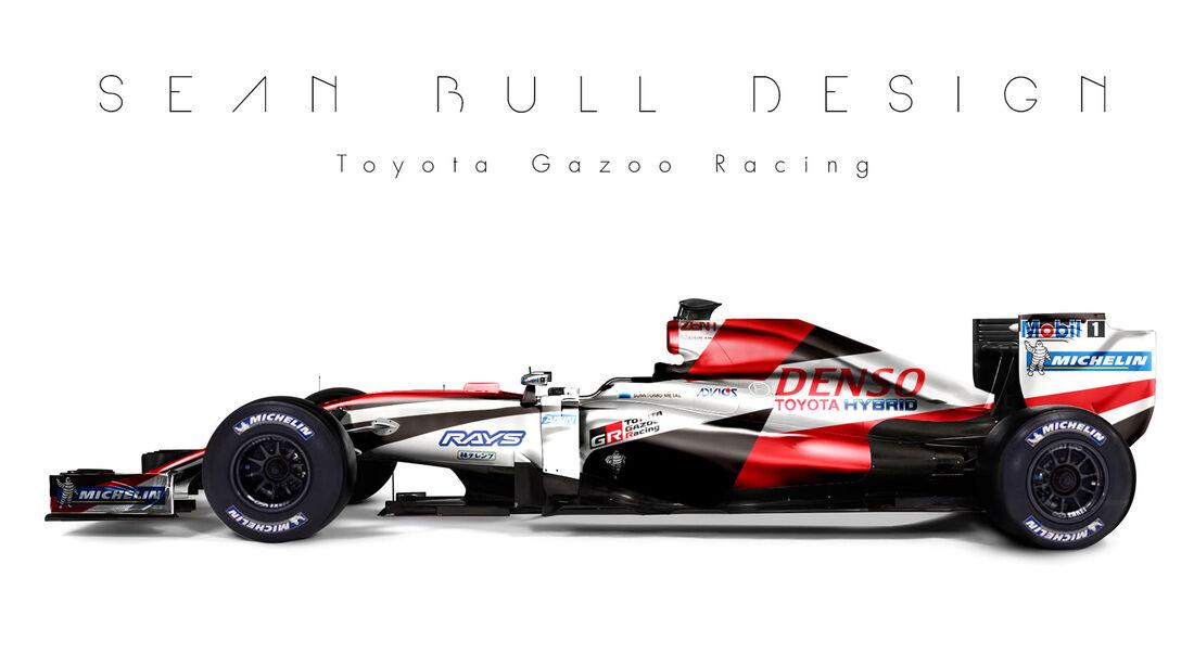 Formel 1 - Toyota - Fantasie-Teams - Sean Bull Design