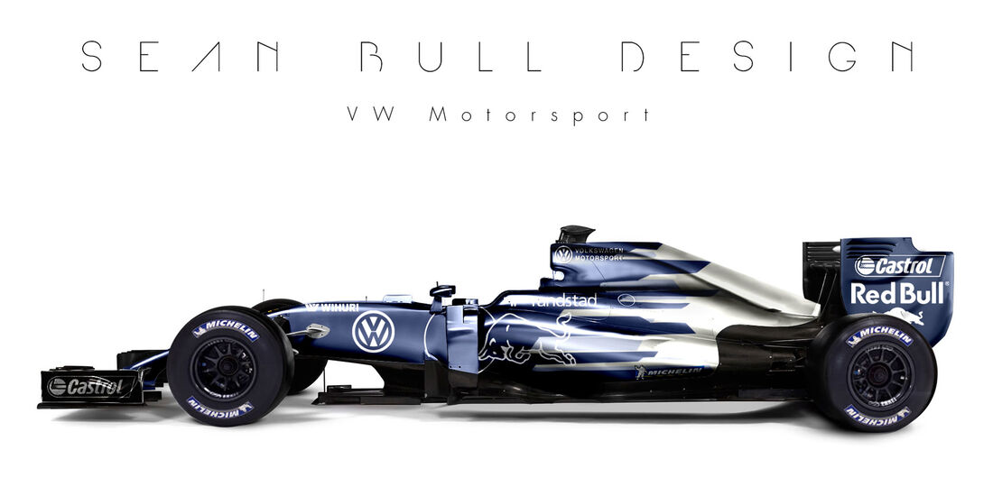 Formel 1 - VW - Fantasie-Teams - Sean Bull Design