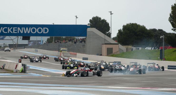 Formel 3-EM - Paul Ricard - Start - 1. Lauf
