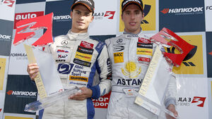 Formel 3 Hockenheimring II 2012, Daniel Juncadella, Pascal Wehrlein
