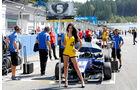 Formel 3 - Österreich 2014 - Spielberg - Red Bull Ring - Rennen 1 - Grid Girl