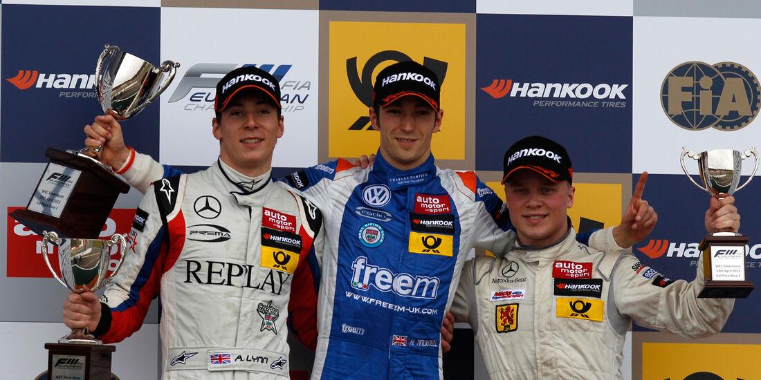 Formel 3 Silverstone 2013 Lynn Tincknell Rosenqvist