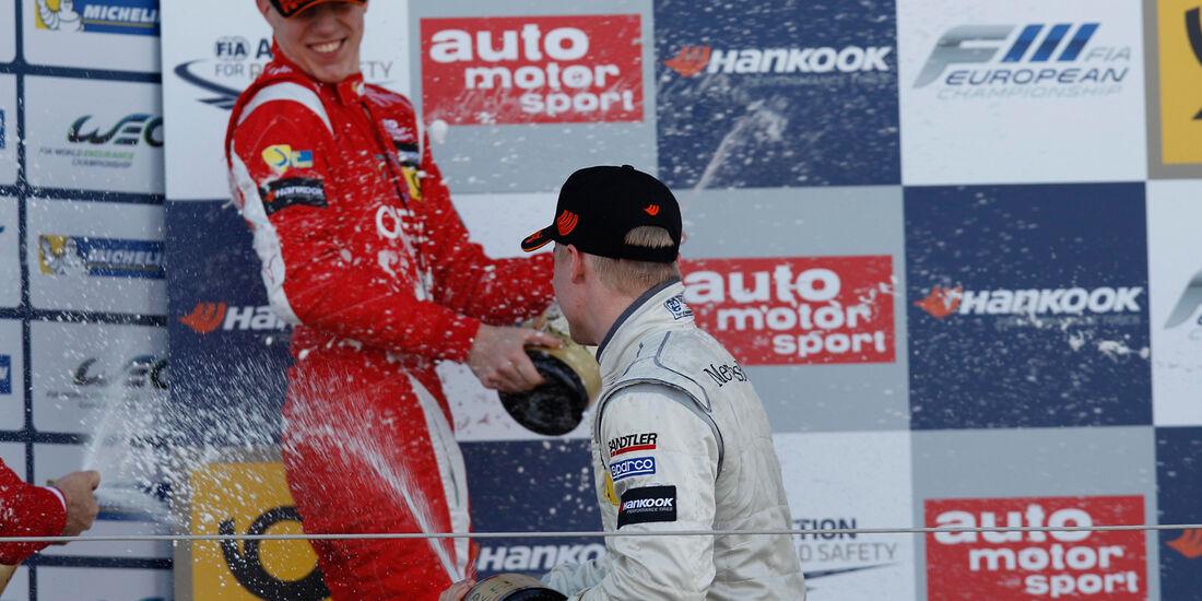 Formel 3 Silverstone 2013 Marciello & Rosenqvist