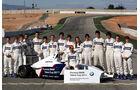 Formel BMW Sebastian Vettel Gruppenbild