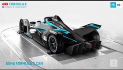 Formel E-Auto - Generation 2 - 2018