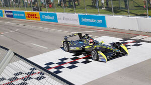 Formel E - Nelson Piquet - China Racing - Long Beach - 6. Rennen