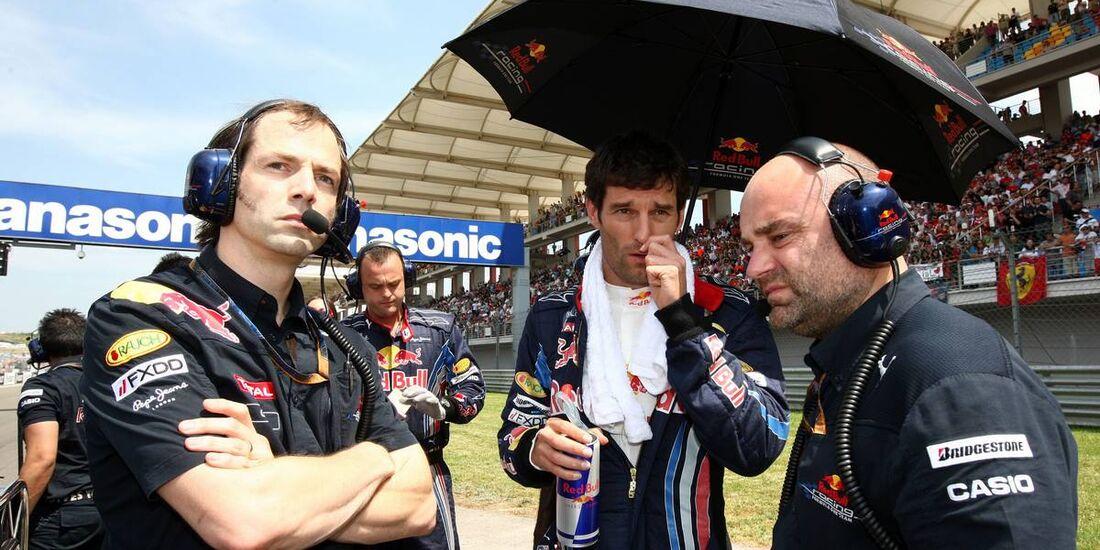 Formula 1 Grand Prix, Turkey, Sunday Pre-Race Grid