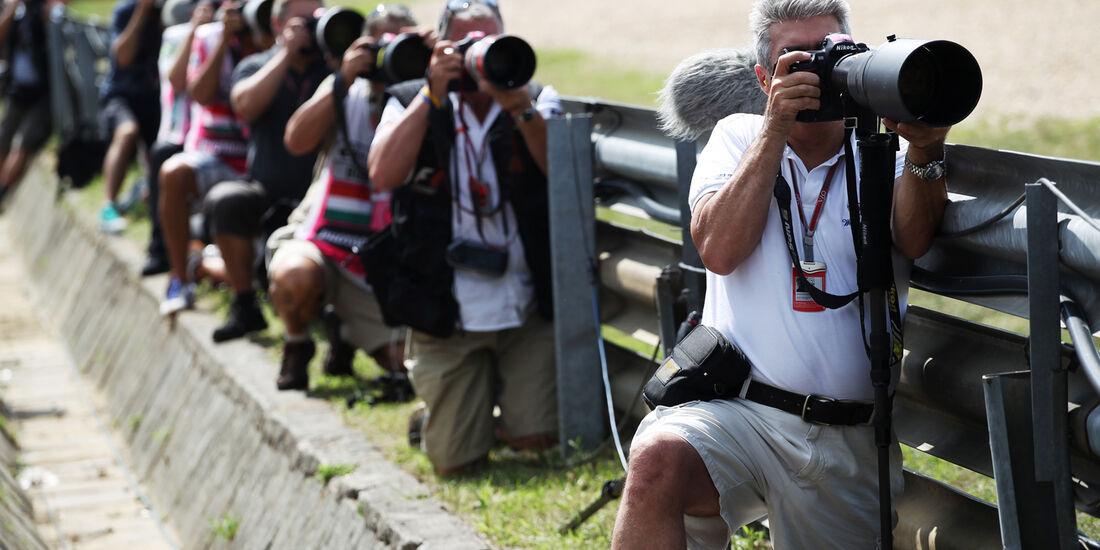 Fotografen - Formel 1 - GP Ungarn - Budapest - 27. Juli 2012