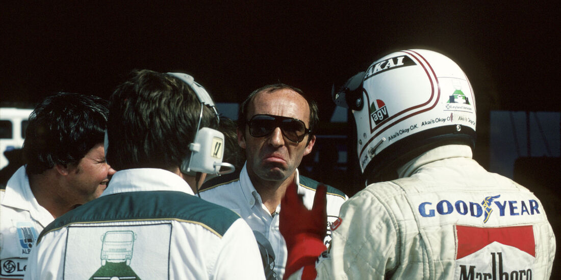 Frank Williams - Alan Jones - GP Spanien 1980 - Jarama, 01.06.1980