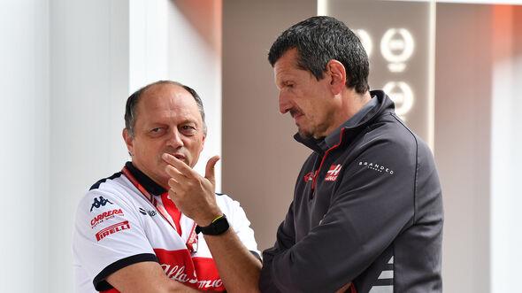 Frederic Vasseur & Guenther Steiner - Formel 1 - 2018