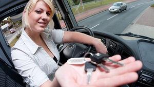 Führerschein-Prüfung Lkw